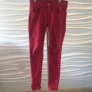 Red Benetton Jeans